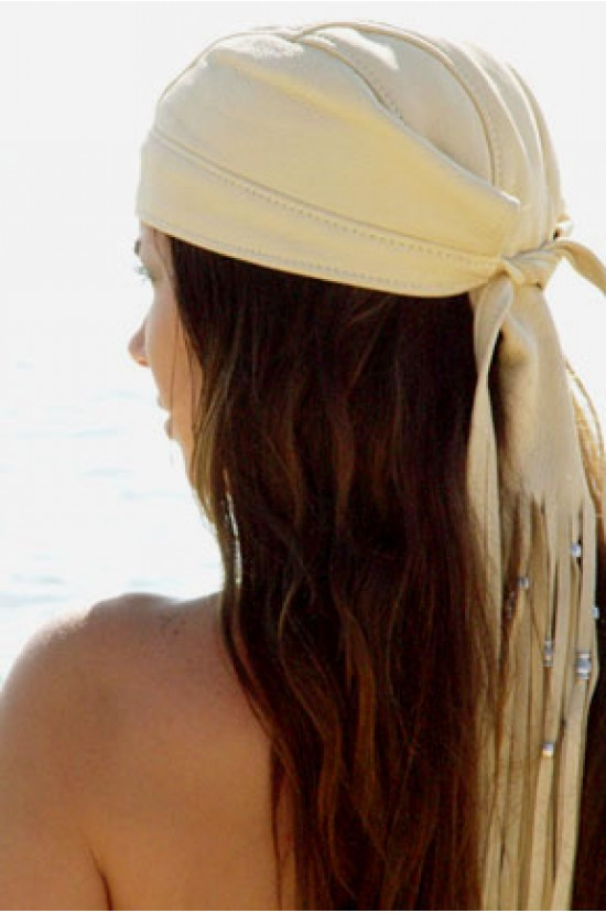 Beaded Fringe Headwrap